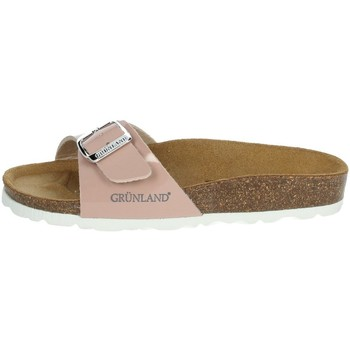 Chaussures Fille Claquettes Grunland CB0930-40 Poudre rose