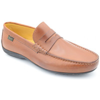 Chaussures Homme Mocassins Paraboot cabrio damier Marron