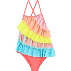 Vêtements Fille Maillots de bain 1 pièce Billieblush / Billybandit Maillot de bain bébé 1 pièce à volant Multicolore