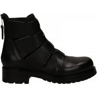 Chaussures Femme Bottines Elena Iachi BIKER nero