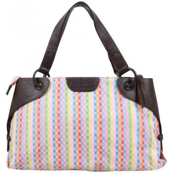 Sacs Femme Cabas / Sacs shopping Arthur & Aston Sac épaule Arthur et Aston Toile multicolore Multicolor