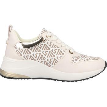 Chaussures Femme Baskets basses La Strada Sneaker Weiß/Beige