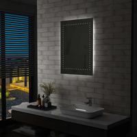 Maison & Déco Miroirs Vidaxl Miroir à LED 60 x 80 cm Argent