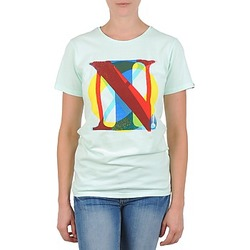 Vêtements Femme T-shirts manches courtes Nixon PACIFIC Vert