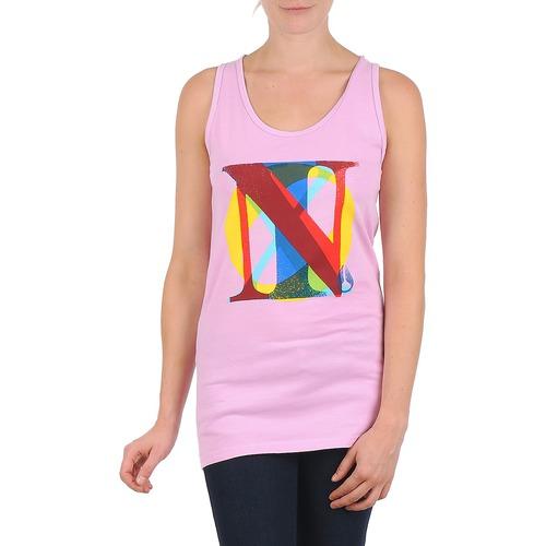 Vêtements Femme Débardeurs / T-shirts sans manche Nixon PACIFIC TANK Rose / Multicolore