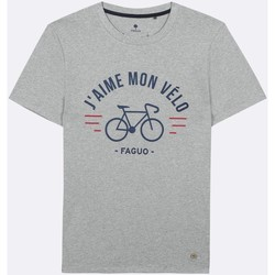 Vêtements Homme T-shirts & Polos Faguo Arcy Gris