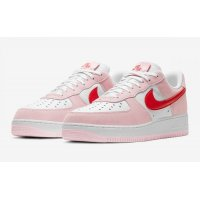 Chaussures Baskets basses Nike Air Force 1 Low Love Letter Tulip Pink/University Red-White