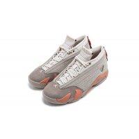Chaussures Baskets basses Nike Air Jordan 14 Low x CLOT Sepia Stone Sepia Stone/Terra Blush/Desert Sand