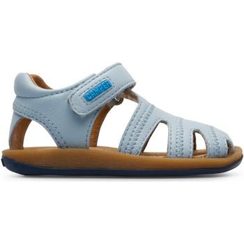 Chaussures Enfant Sandales et Nu-pieds Camper Sandales cuir BICHO bleuclair