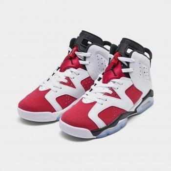 Chaussures Baskets montantes Nike Air Jordan 6 Carmine White/Black/Carmine