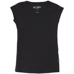 Vêtements Femme T-shirts manches courtes Ko Samui Tailors Icon T-Shirt Bianco Noir