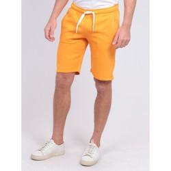 Vêtements Shorts / Bermudas Ritchie Bermuda molleton BIDMIN Orange