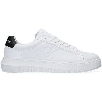 Chaussures Femme Baskets basses Calvin Klein Jeans SNEAKER LACEUP Blanc