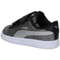 Chaussures Fille Baskets basses Puma 367380-14 NOIR