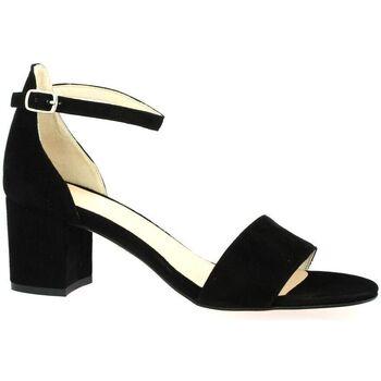 Chaussures Femme Project X Paris Sofia Costa Nu pieds cuir velours Noir