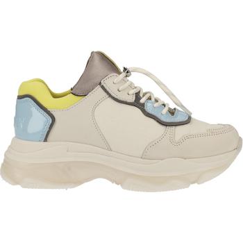 Chaussures Femme Baskets basses Bronx Sneaker Weiß/Blau