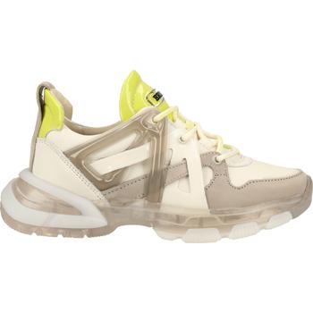 Chaussures Femme Baskets basses Bronx Sneaker Weiß/Braun