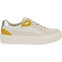 Chaussures Femme Baskets basses Legero Sneaker Weiß/Gelb