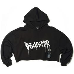 Vêtements Femme Sweats Disclaimer sweatshirt Noir  DSC50667 Noir