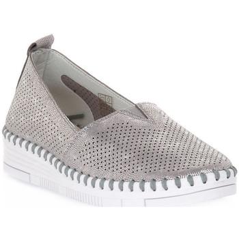 Chaussures Femme Mocassins Grunland ARGENTO F6 VIVY Grigio