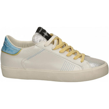 Chaussures Femme Baskets basses Crime London LOW TOP DISTRESSED white