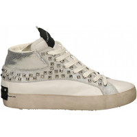 Chaussures Femme Baskets montantes Crime London LOW TOP HERITAGE silver
