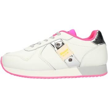 Chaussures Fille Baskets basses Blauer S1LILLI02LEA blanc