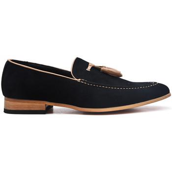 Chaussures Mocassins Uomo Design Mocassin Homme Mickaël noir