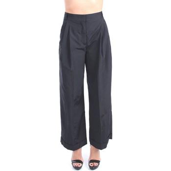 Vêtements Femme Pantalons fluides / Sarouels Via Masini 80 P21M604MK Culottes Femme Noir Noir