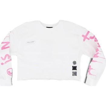 Vêtements Femme Sweats Disclaimer Hoodie a capuche blanc  DSC50648 Blanc