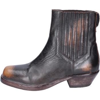 Chaussures Femme Bottines Moma BJ653 Marron