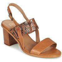 Chaussures Femme Sandales et Nu-pieds Karston LIMEY Camel