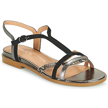 Chaussures Femme Sandales et Nu-pieds Karston SOBIO Noir
