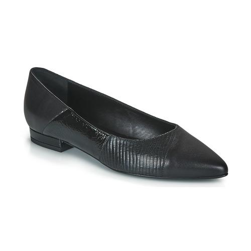 Chaussures Femme Ballerines / babies JB Martin TENDRE Noir