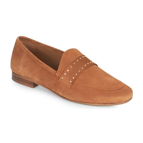 Chaussures Femme Mocassins JB Martin FRANCHE ROCK Marron