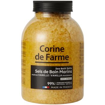 Beauté Produits bains Corine De Farme Sels de Bain Marins Anti-stress Vanille Autres