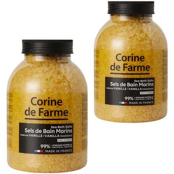 Beauté Produits bains Corine De Farme Lot de 2 Sels de bain marins Anti-stress Vanille Autres