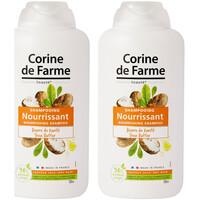 Beauté Soins cheveux Corine De Farme Lot de 2 Shampooings Nourrisant au Beurre de Karité 500ml Autres