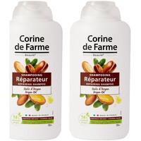 Beauté Soins cheveux Corine De Farme Lot de 2 Shampooings Réparateur à l'Huile d'Argan 500ml Autres