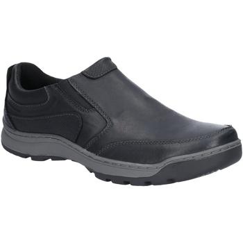 Chaussures Homme Mocassins Hush puppies  Noir