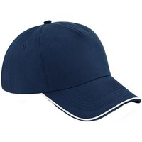 Accessoires textile Casquettes Beechfield B25C Bleu marine/blanc
