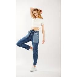 Vêtements Femme Jeans bootcut Toxik3 Jean poches contrastées Bleu jean