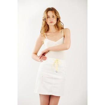 Vêtements Femme Jupes Toxik3 Jupe sporty Blanc