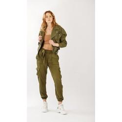 Vêtements Femme Blousons Toxik3 Perfecto Kaki