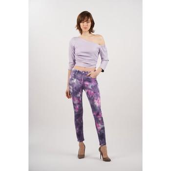 Vêtements Femme Pantalons Toxik3 Pantalon tie and dye Violet