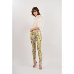 Vêtements Femme Pantalons Toxik3 Pantalon imprimé Jaune
