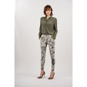 Vêtements Femme Pantalons Toxik3 Pantalon imprimé Gris