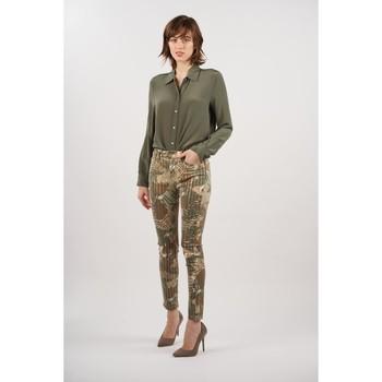 Vêtements Femme Pantalons Toxik3 Pantalon imprimé Kaki