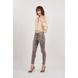 Vêtements Femme Jeans Toxik3 Jean imprimé Gris