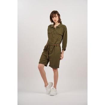 Vêtements Femme Combinaisons / Salopettes Toxik3 Combinaison short Kaki